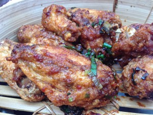 Spicy Crispy Chicken Wings